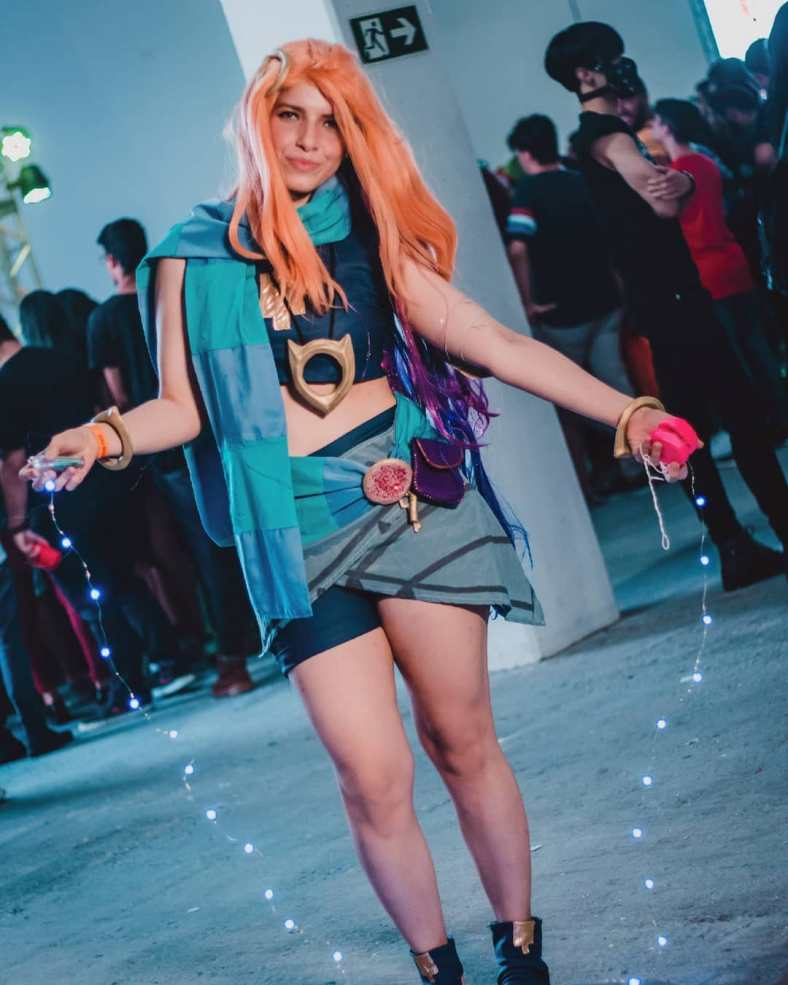League of Legends - Cosplay da Zoe 04