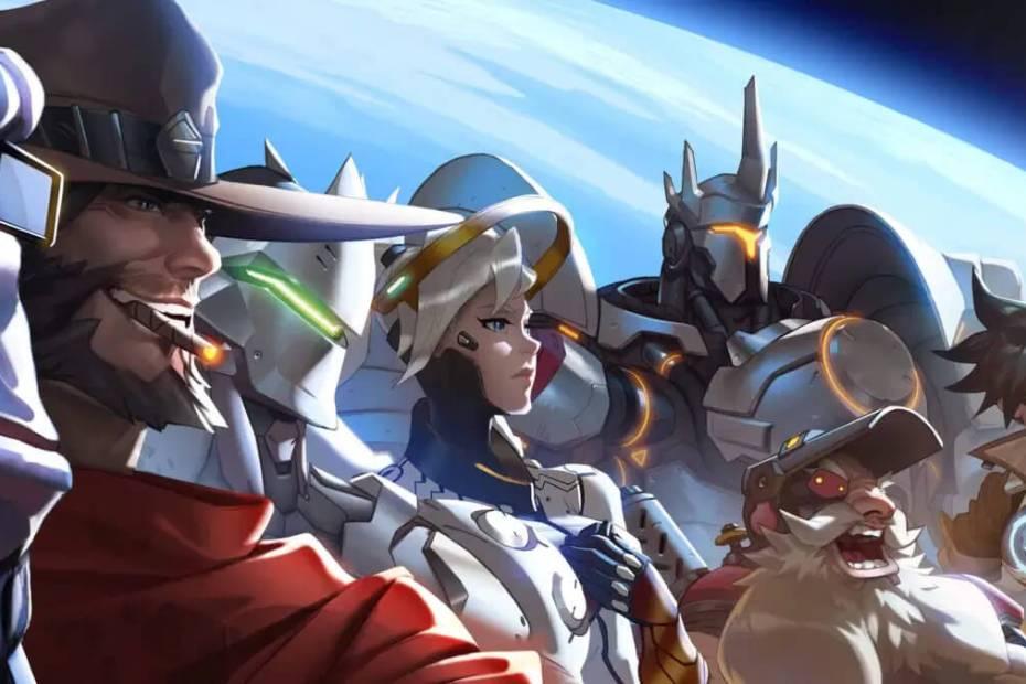 Overwatch personagens