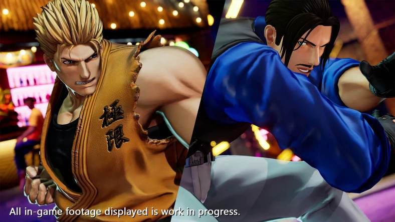 The King of Fighters XV - Ryo Sakazaki vs Robert Garcia 04