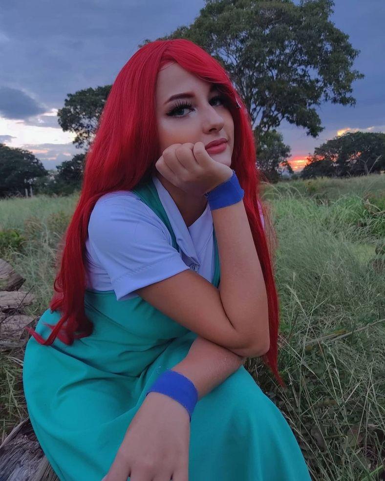 Uzumaki Kushina Cosplay Feminino - Naruto Foto 02