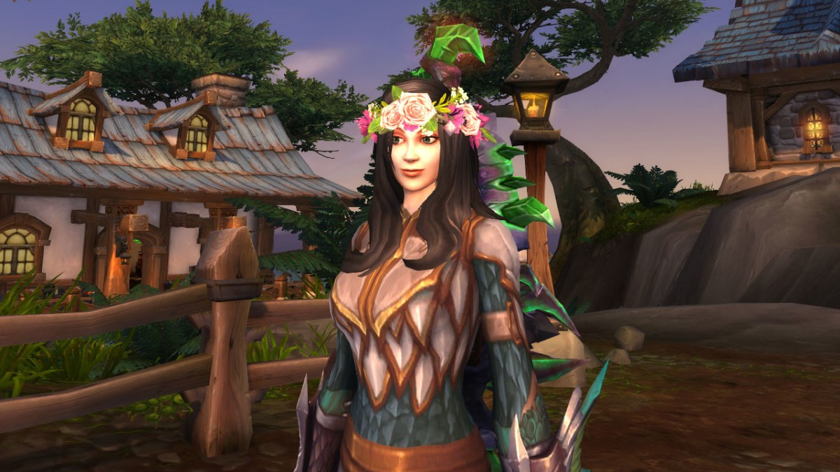 World of Warcraft - Coroa de Flores na Nielleshadow