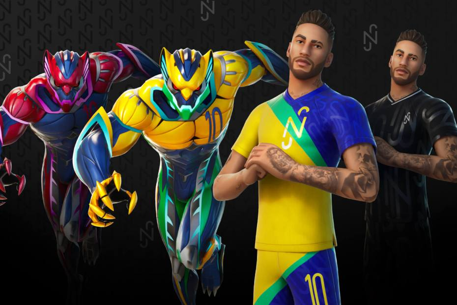 Neymar em Fortnite - 01
