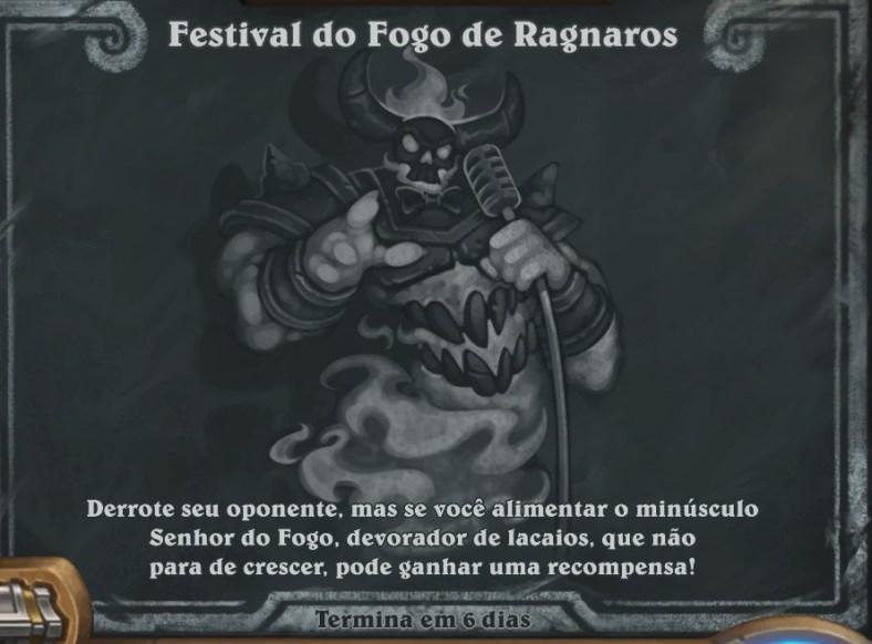 Hearthstone - Festival do Fogo de Ragnaros