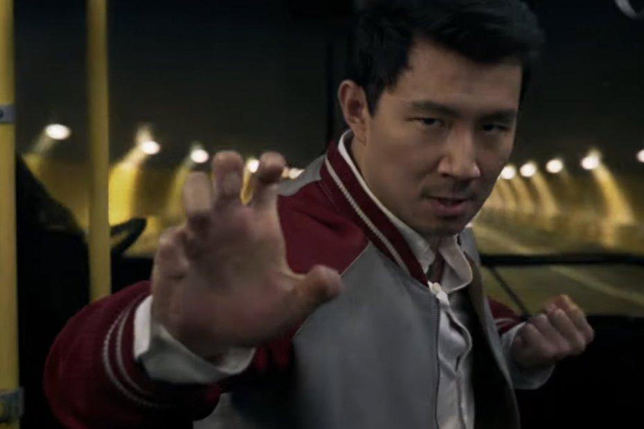 Simu Liu em Shang-Chi