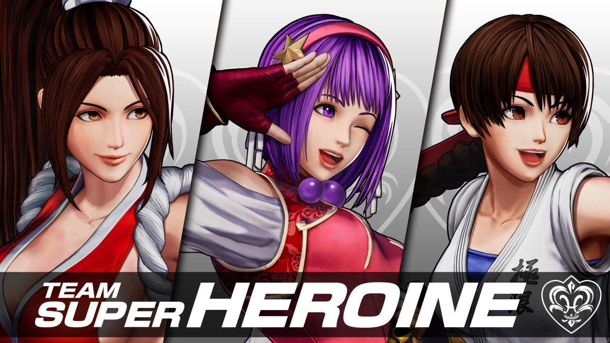 Team Super Heroíne em The King of Fighters XV - 01