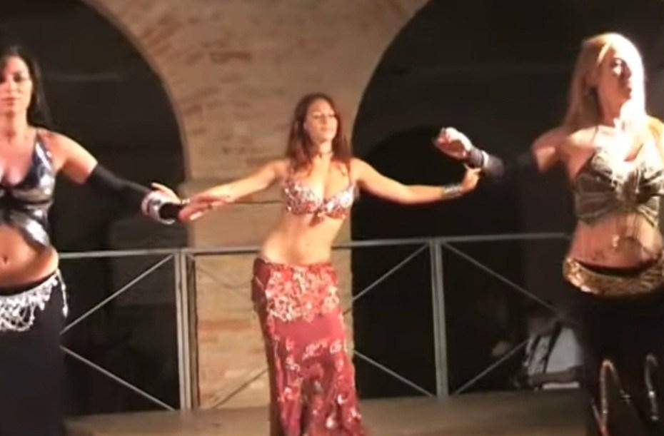 Dança do Ventre Marco Polo Oriental Angels Capa