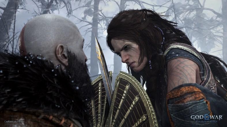 God of War Ragnarok - Kratos vs Freya