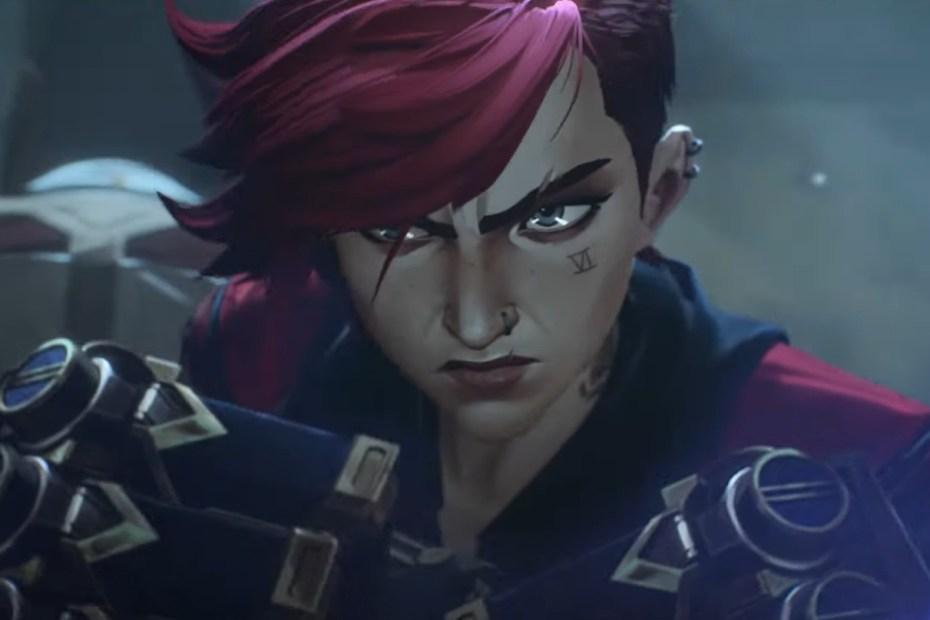 League of Legends Arcane - Imagem capa do trailer