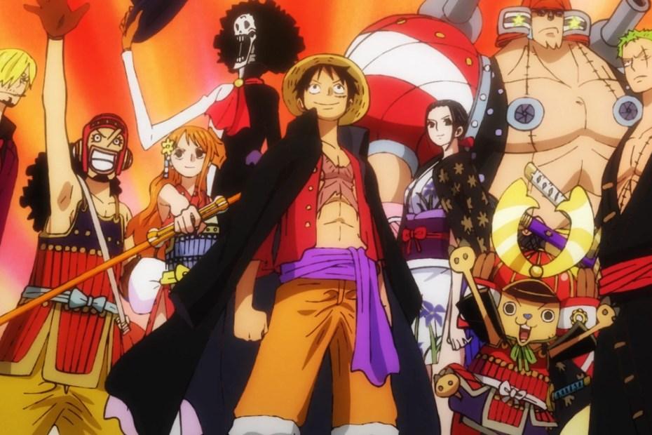One Piece Episódio 978 - Heróis no arco Wano 03
