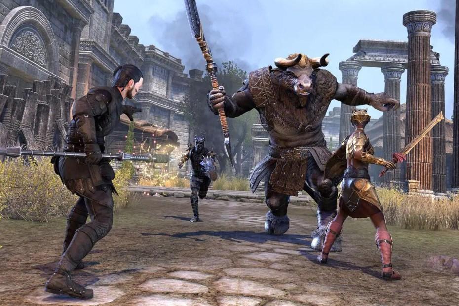 The Elder Scrolls Online - Confronto Screenshot Capa