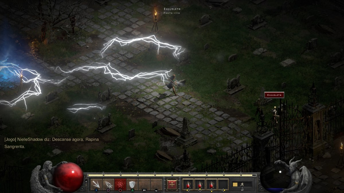 Diablo II - PC Screenshot Progressão - Derrotando a Rapina Sangrenta