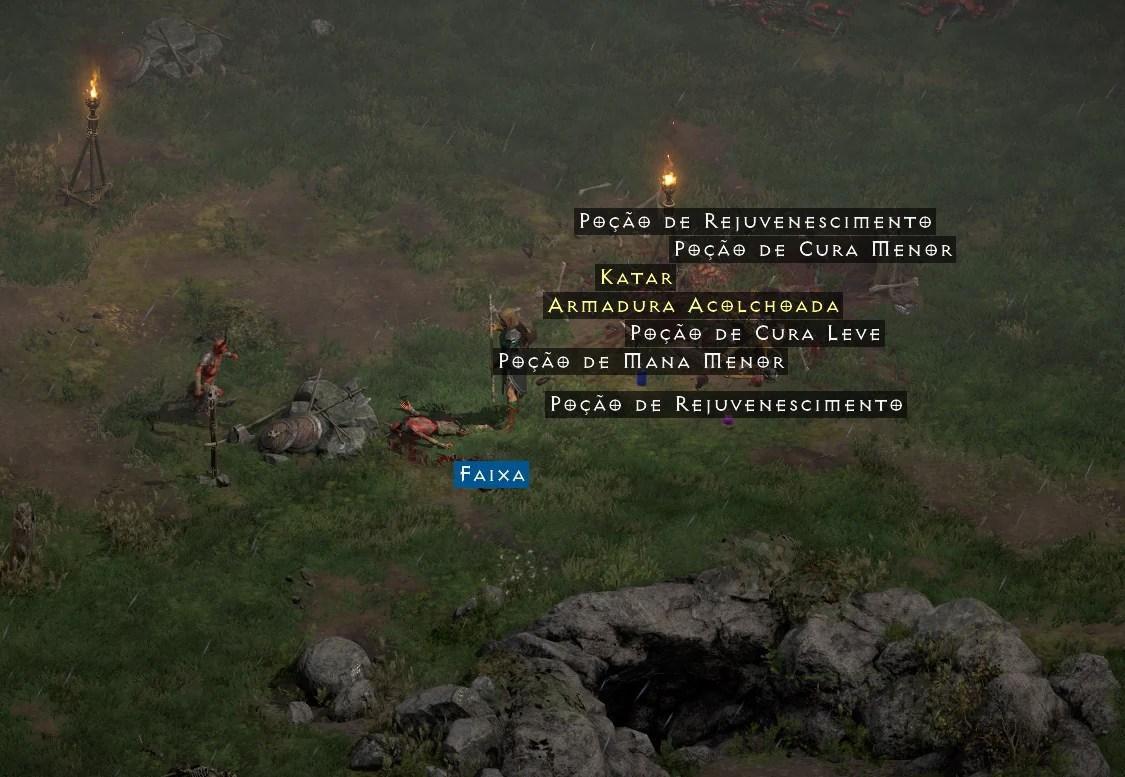 Diablo II Resurrected - Pele Carniceira - Armadura Alcolchoada Etérea 02