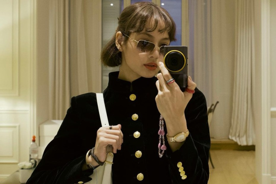 LISA - Blackpink - Nova selfie com glamour Capa