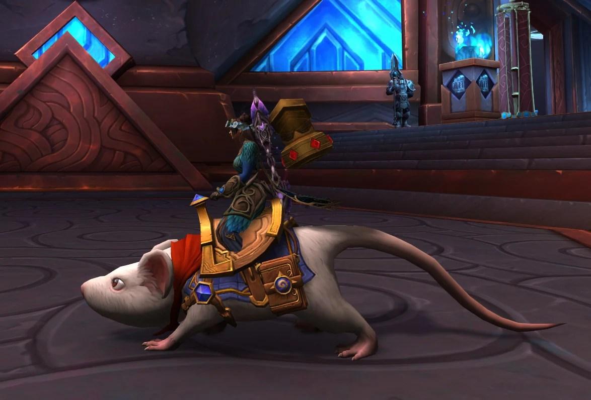Montaria de World of Warcraft - História do Sargento 05