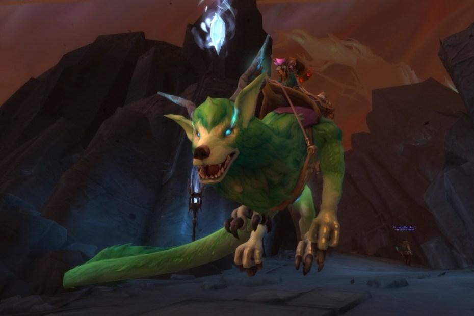 Progressão em World of Warcraft - Montaria na Gorja capa