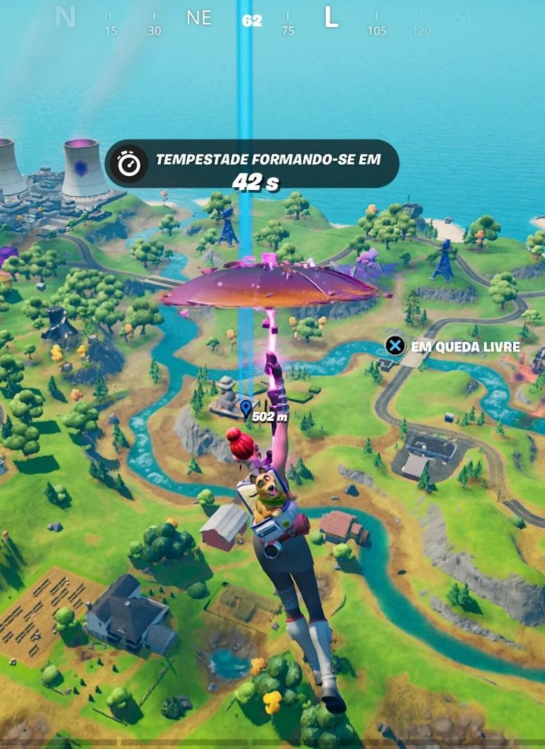 Veja onde achar a Fazenda do Aço em Fortnite 01