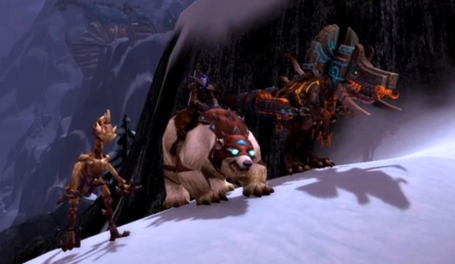 World of Warcraft - Montaria Urso Polar Branco