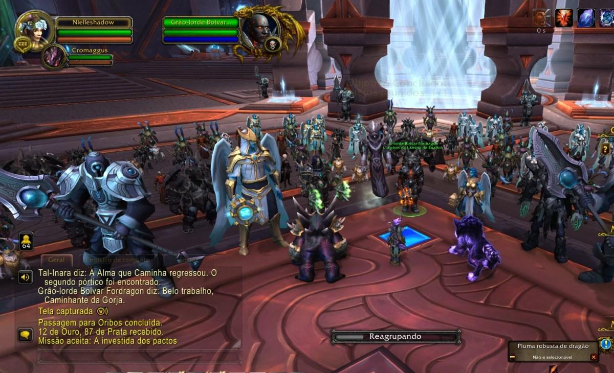 World of Warcraft Shadowlands - Iniciando progressão em Korthia 02