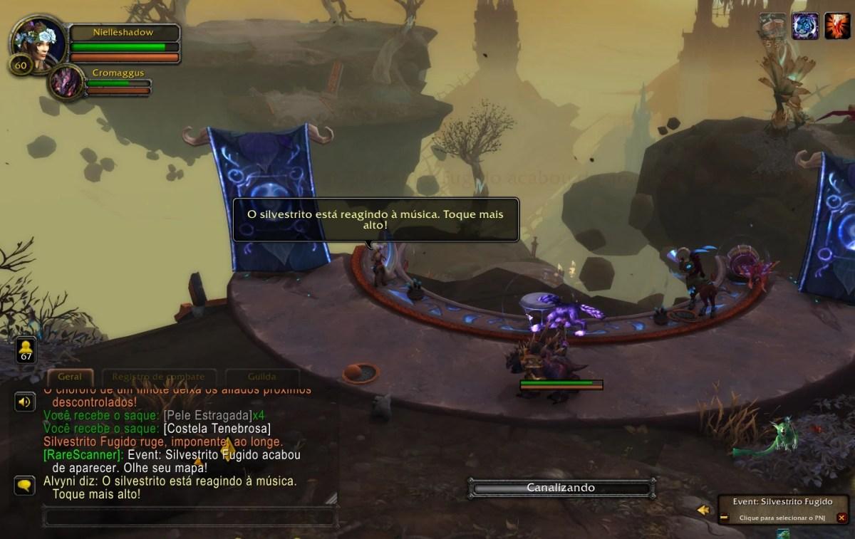 World of Warcraft Shadowlands - Missão do Silvestrito Fugido 01