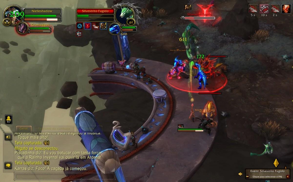 World of Warcraft Shadowlands - Missão do Silvestrito Fugido 02