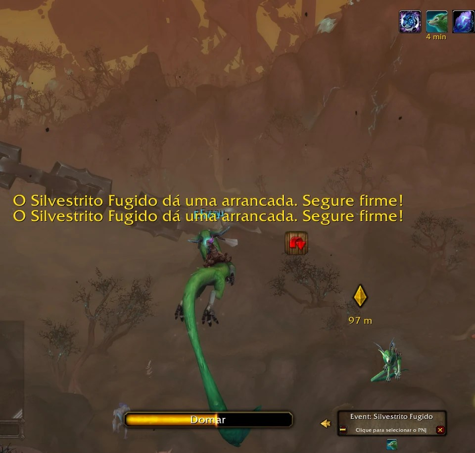 World of Warcraft Shadowlands - Missão do Silvestrito Fugido 03