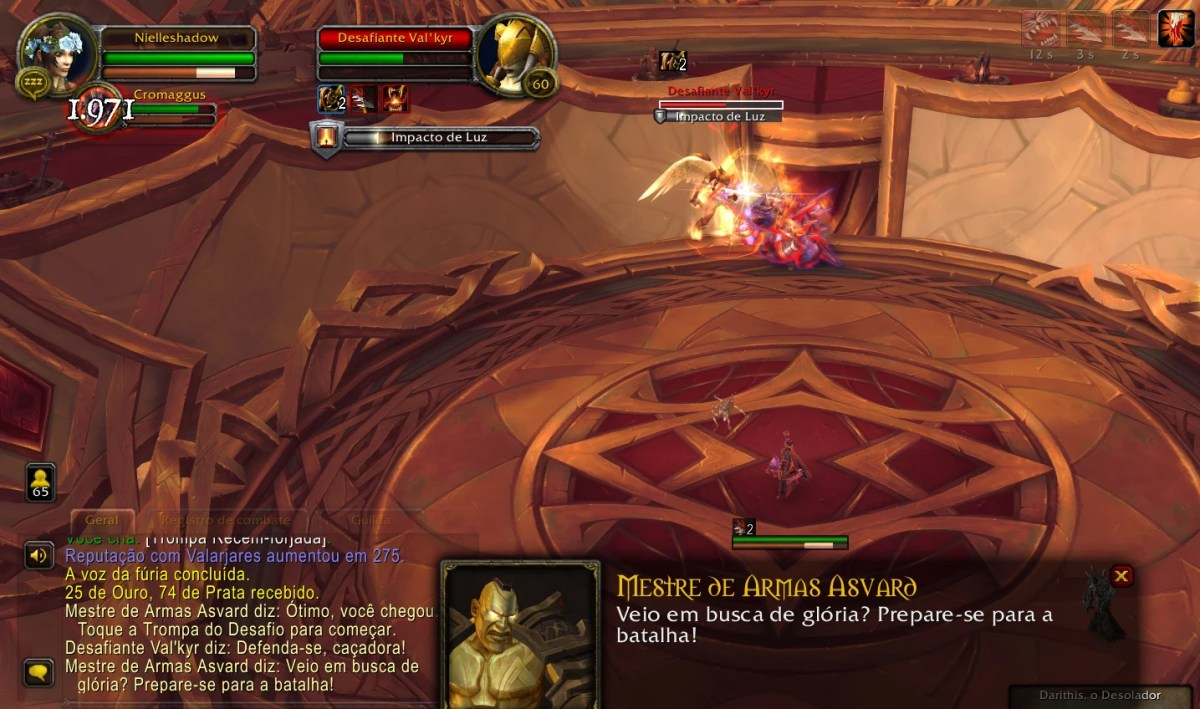 World of Warcraft Shadowlands - Missões do Odyn 02