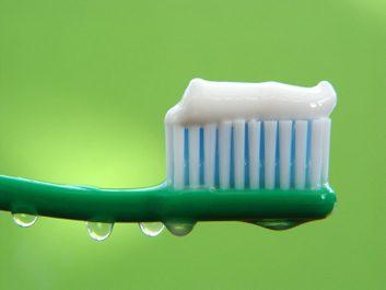 Éloignez les brosses à dents les unes des autres