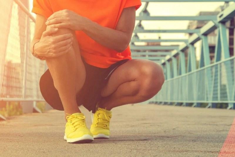 24. Prenez note de vos blessures aux genoux.