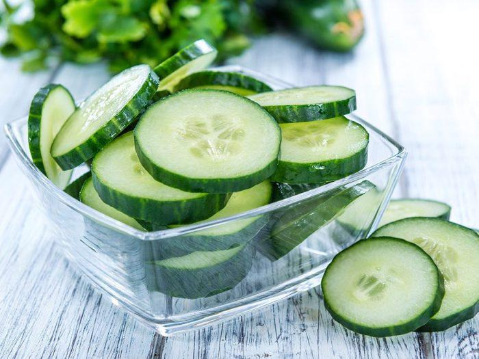 Pour soulager un coup de soleil, servez-vous de légumes.