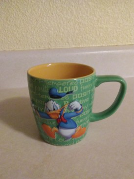 Grouchy donald duck