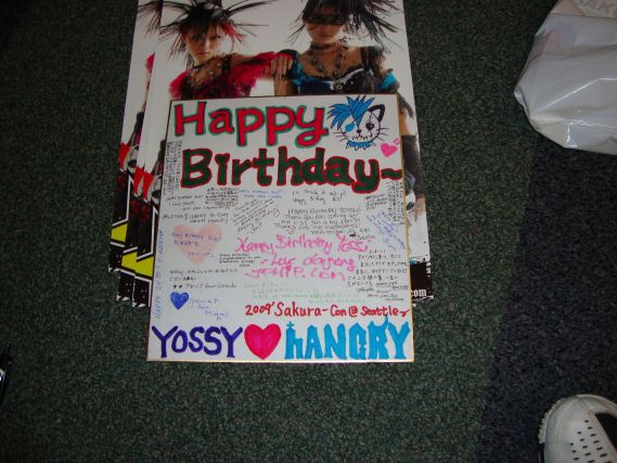 Yossy's Birthday Card