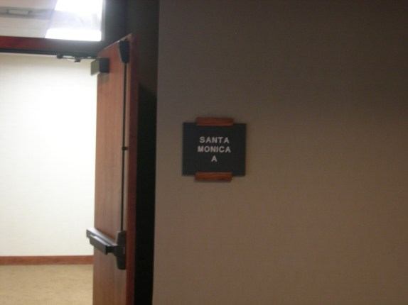 Press Junket Alternate Room