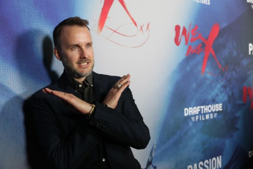 """Director Stephen Kijak seen at The Los Angeles Premiere """"We Are X"""" on Monday, October 03, 2016, in Los Angeles, CA. (Photo by Eric Charbonneau/Invision for Drafthouse Films/AP Images)"""
