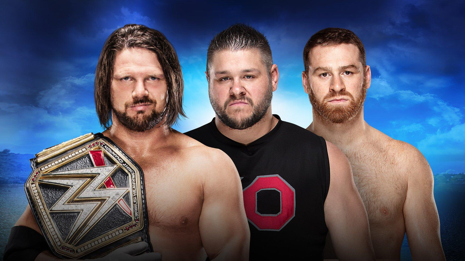 Royal Rumble 2018 SD Live 2 on 1