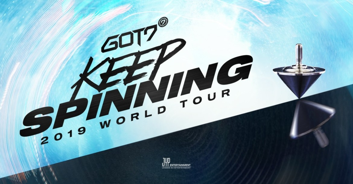 GOT7 Keep Spinning World Tour Promo
