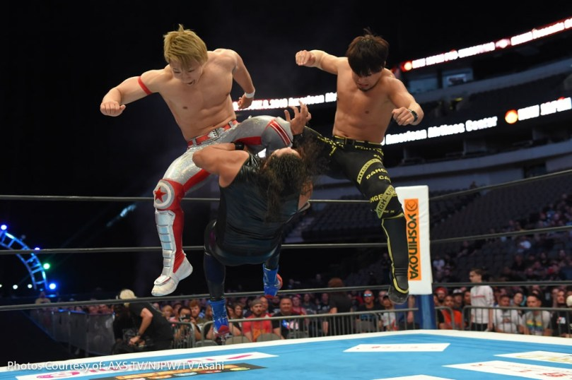 G1 CLIMAX DALLAS AXS-5