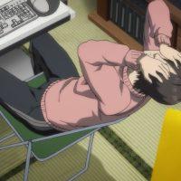 Anime Guy at Desk