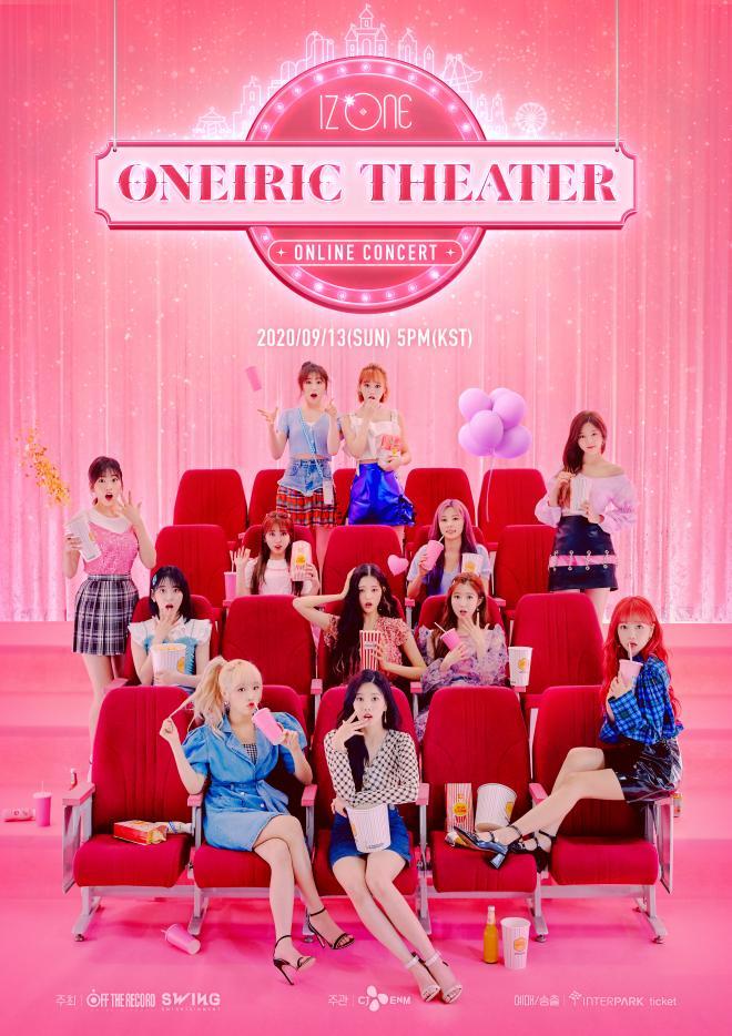 IZONE Online Concert Poster