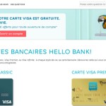 Hello Bank, quelles sont les cartes disponibles?