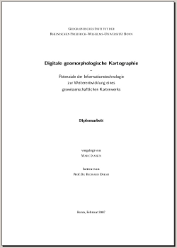 The minimalistic frontpage of the thesis