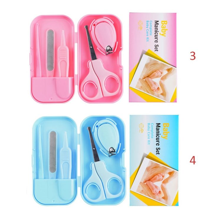 Baby Nail Care Scissors Exquisite Sets Safety Nail Cutter
