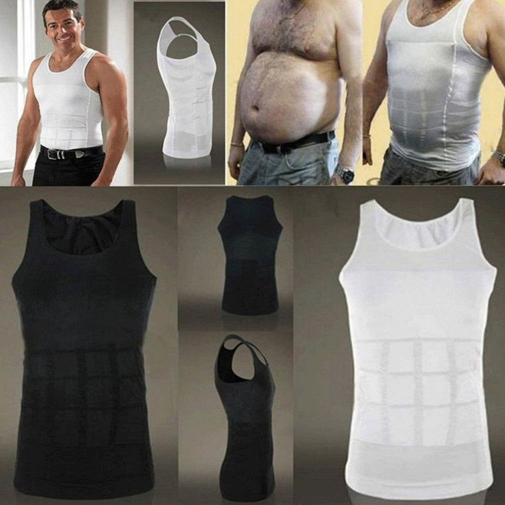 Mens Body Shaper Slimming Posture Corrector Back Goes Up Chest Male Corset Reductor