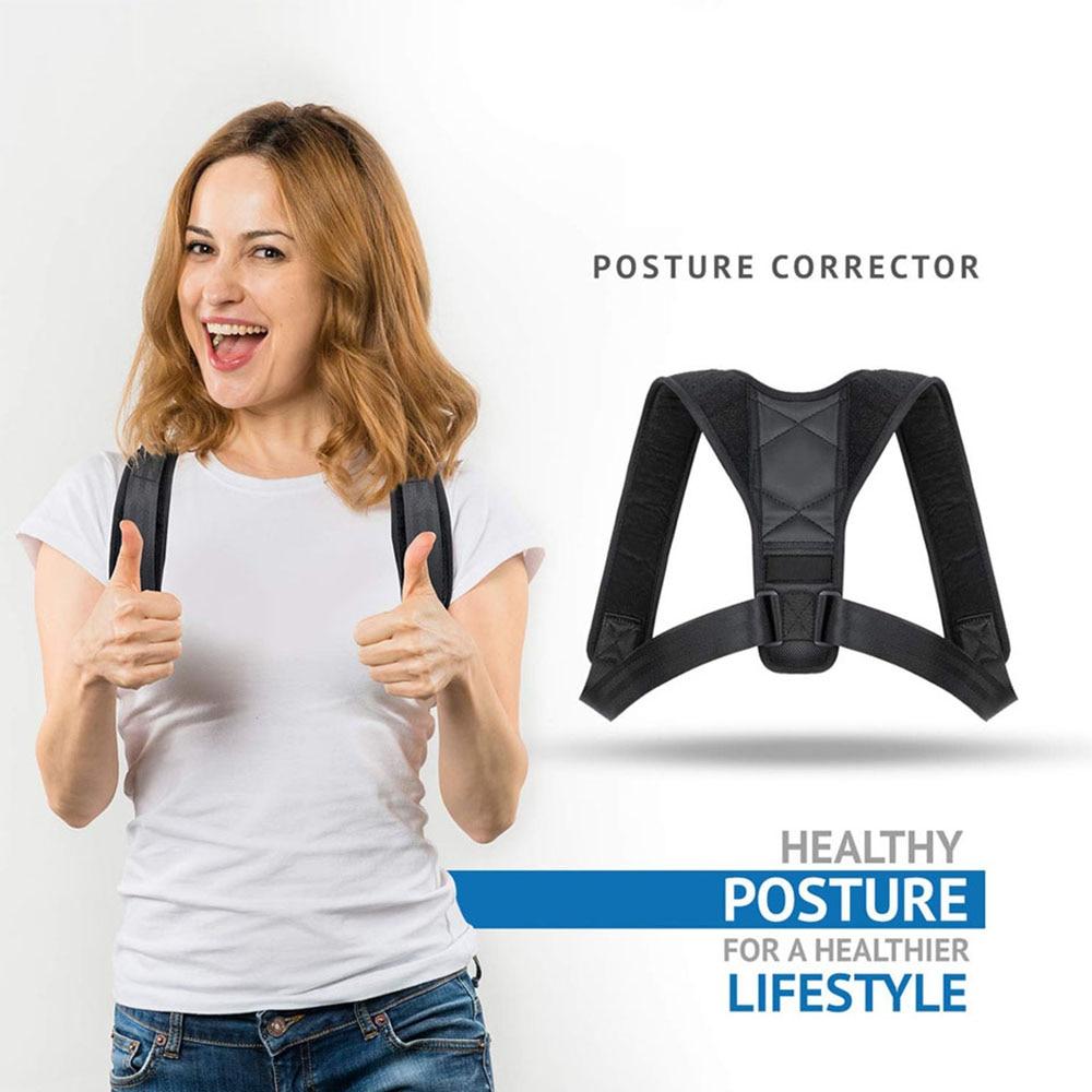 Adjustable Clavicle Posture Corrector Men Women Upper Back Brace Shoulder