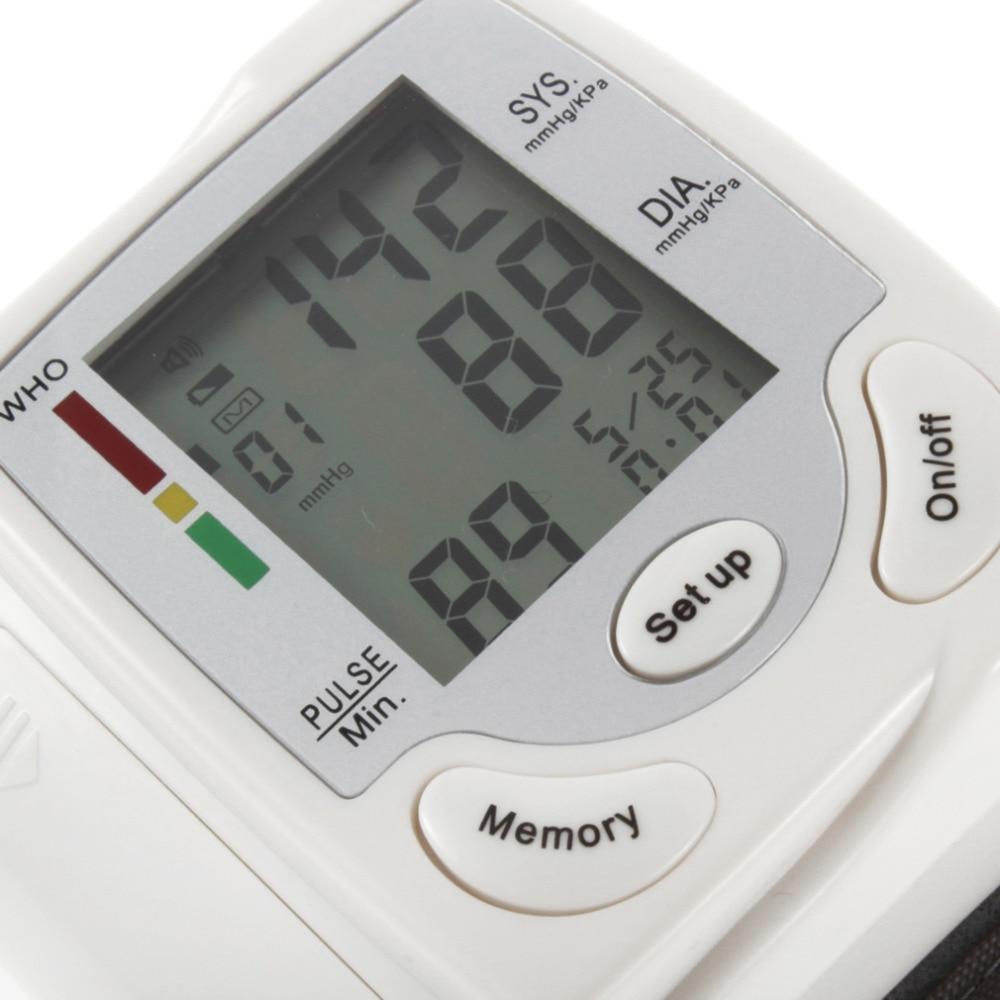 Automatic Digital LCD Display Wrist Blood Pressure Monitor