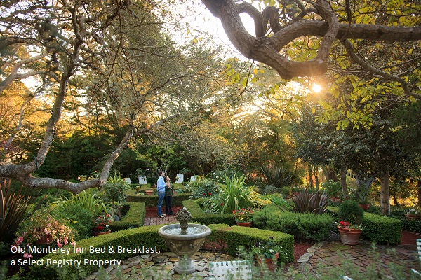 photo of the gardens at the old monterey inn bed and breakfast