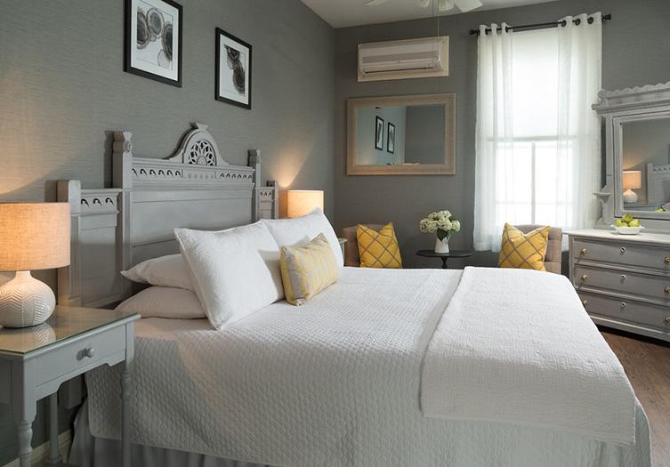 Carroll Villa, NJ room with white interior