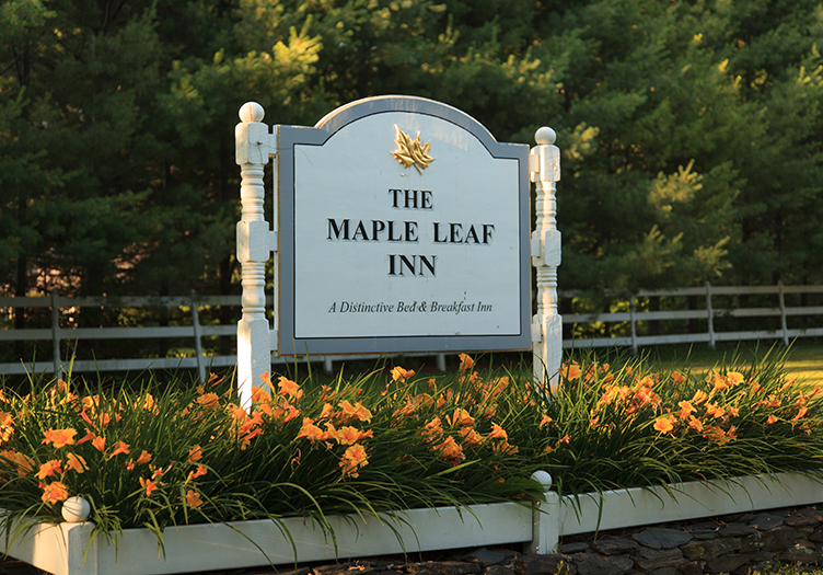 Maple Leaf Inn Sign