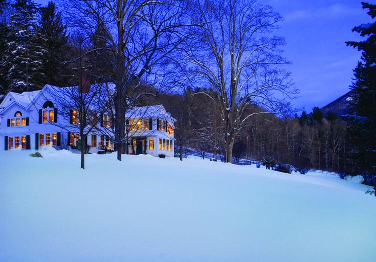 West Mountain Inn Snow