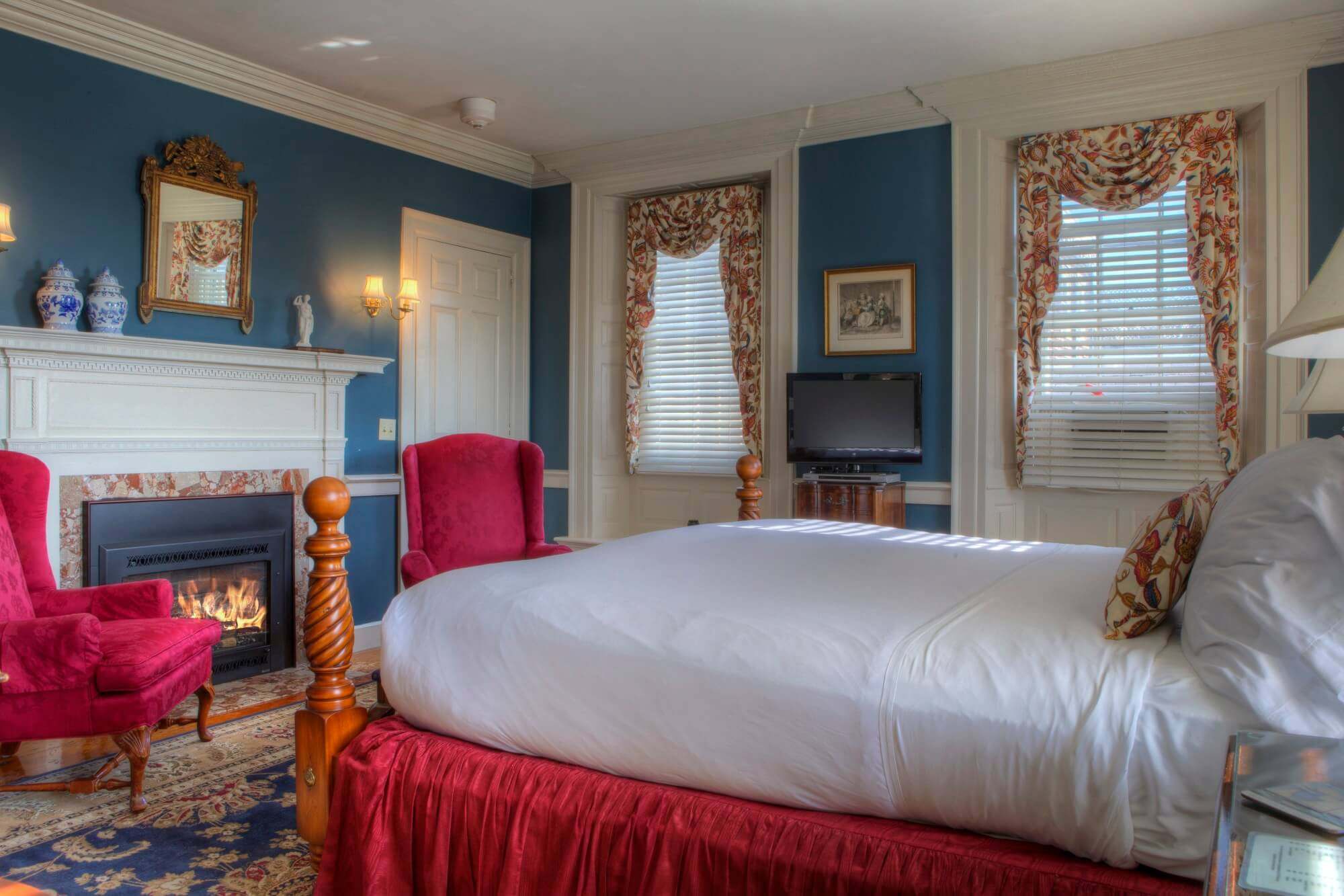 Bedroom at Francis Malbone