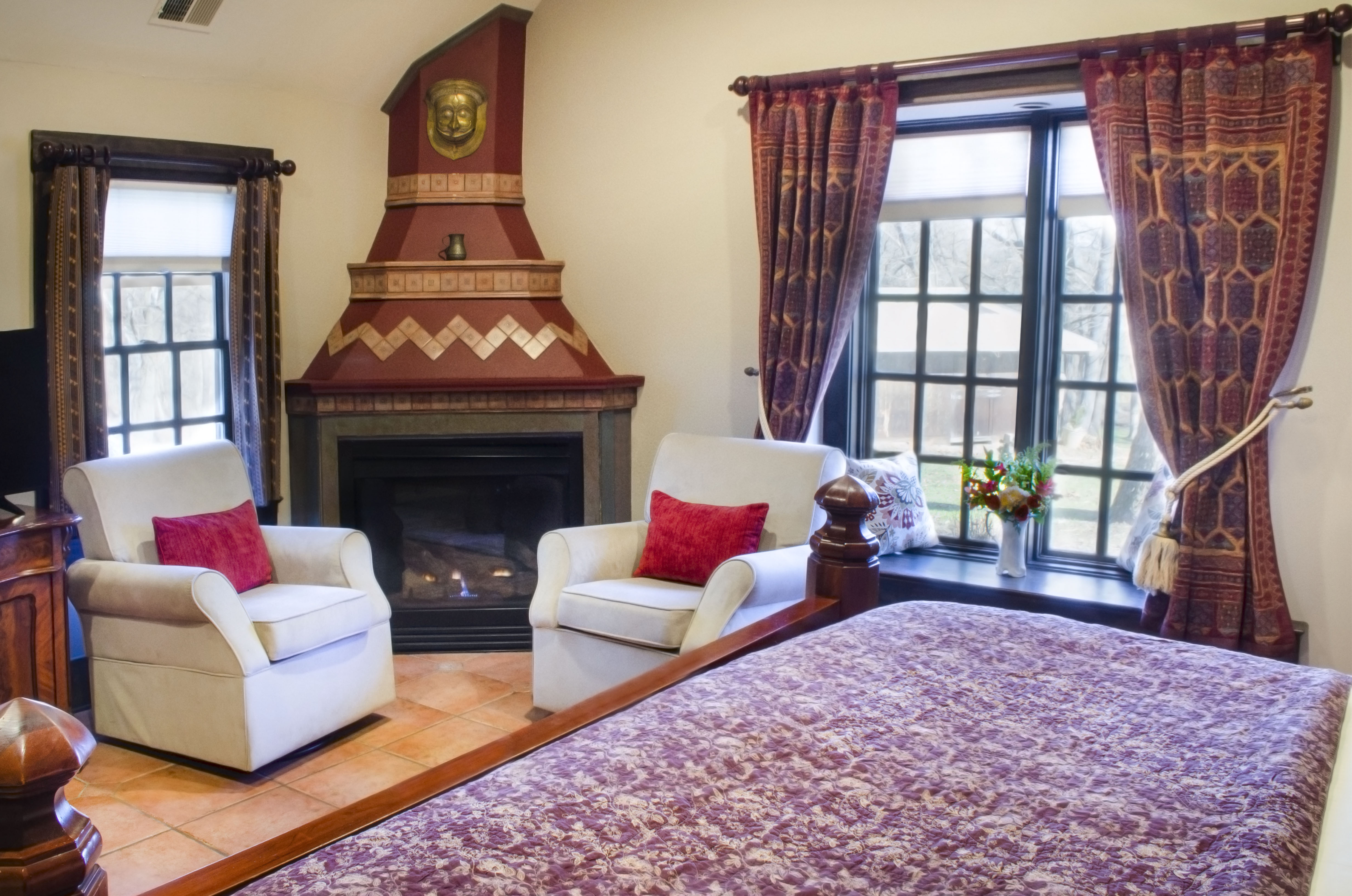 Winter cottage at hillbrook inn and spa